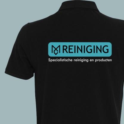 logo MC Reiniging tshirt achterkant