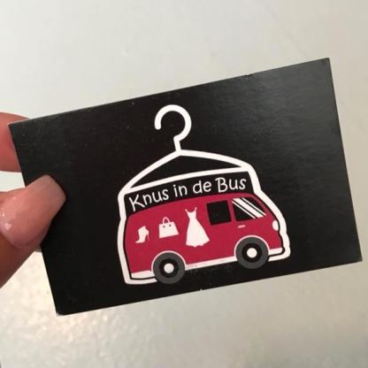 knus in de bus visitekaartje