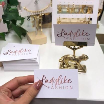 ladylike visitekaartje
