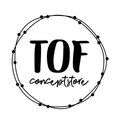 logo tof conceptstore
